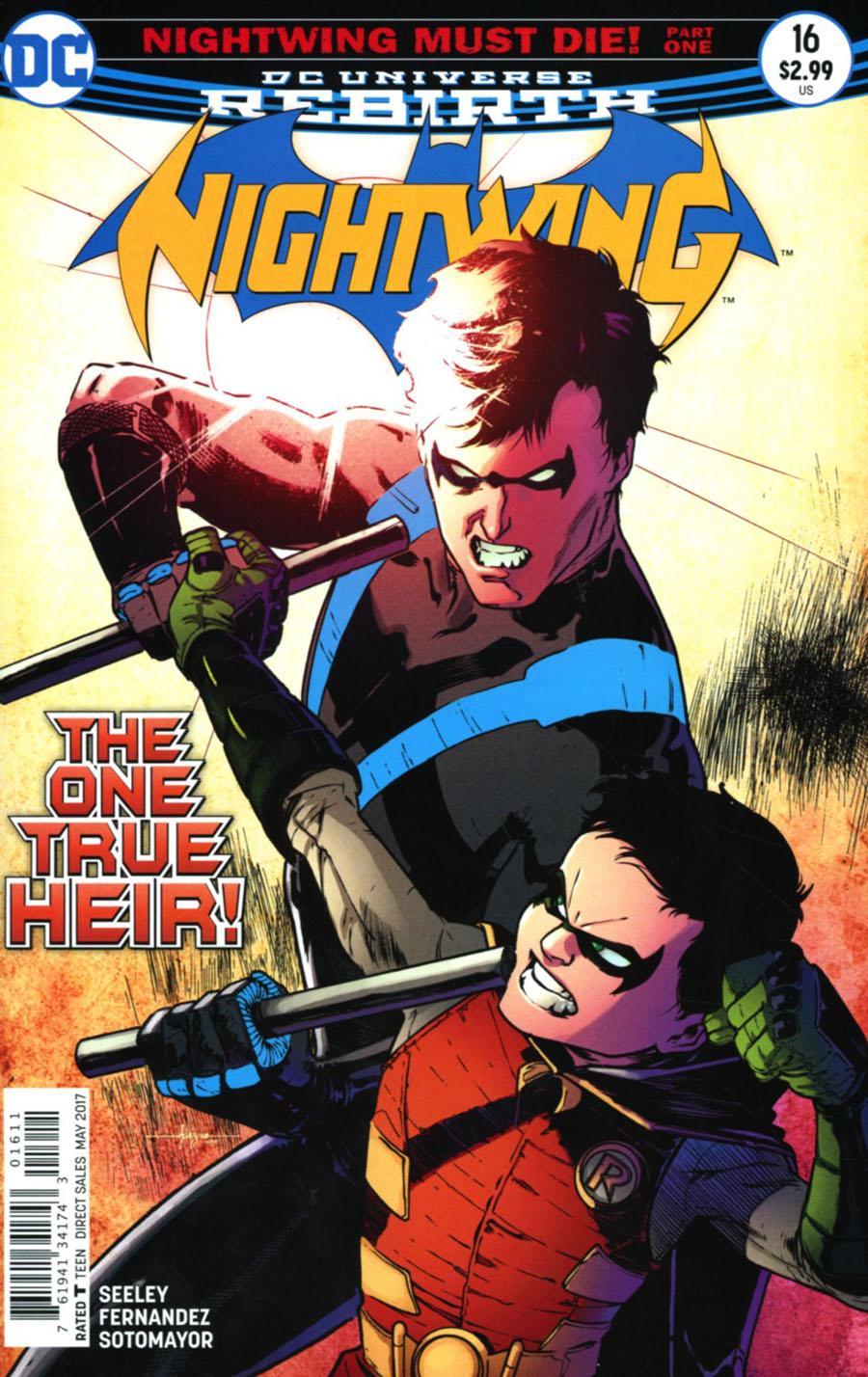 Nightwing Vol 4 #16 Cover A Regular Javier Fernandez Cover