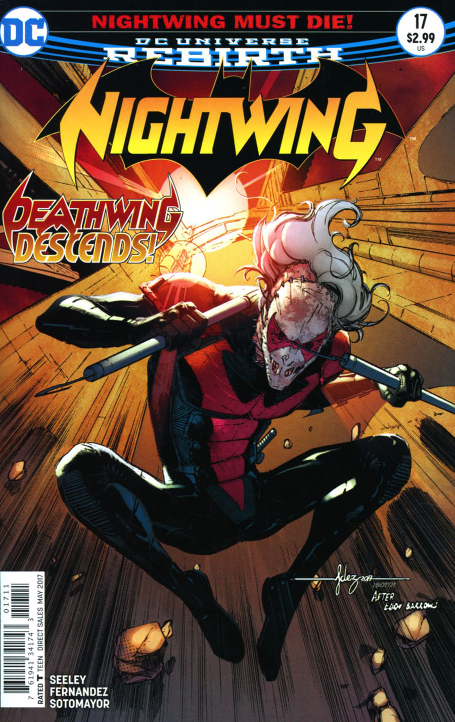 Nightwing Vol 4 #17 Cover A Regular Javier Fernandez Cover