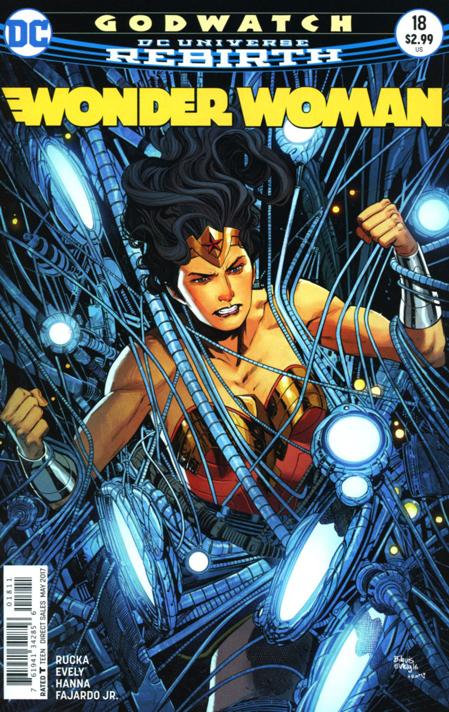 Wonder Woman Vol 5 #18 Cover A Regular Bilquis Evely Cover