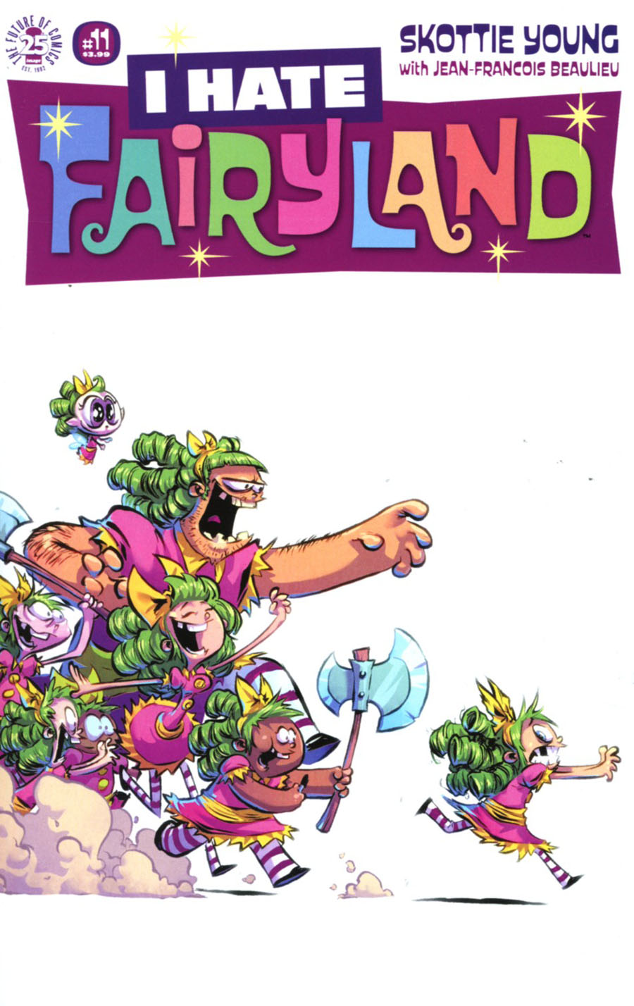 I Hate Fairyland #11 Cover A Regular Skottie Young Cover