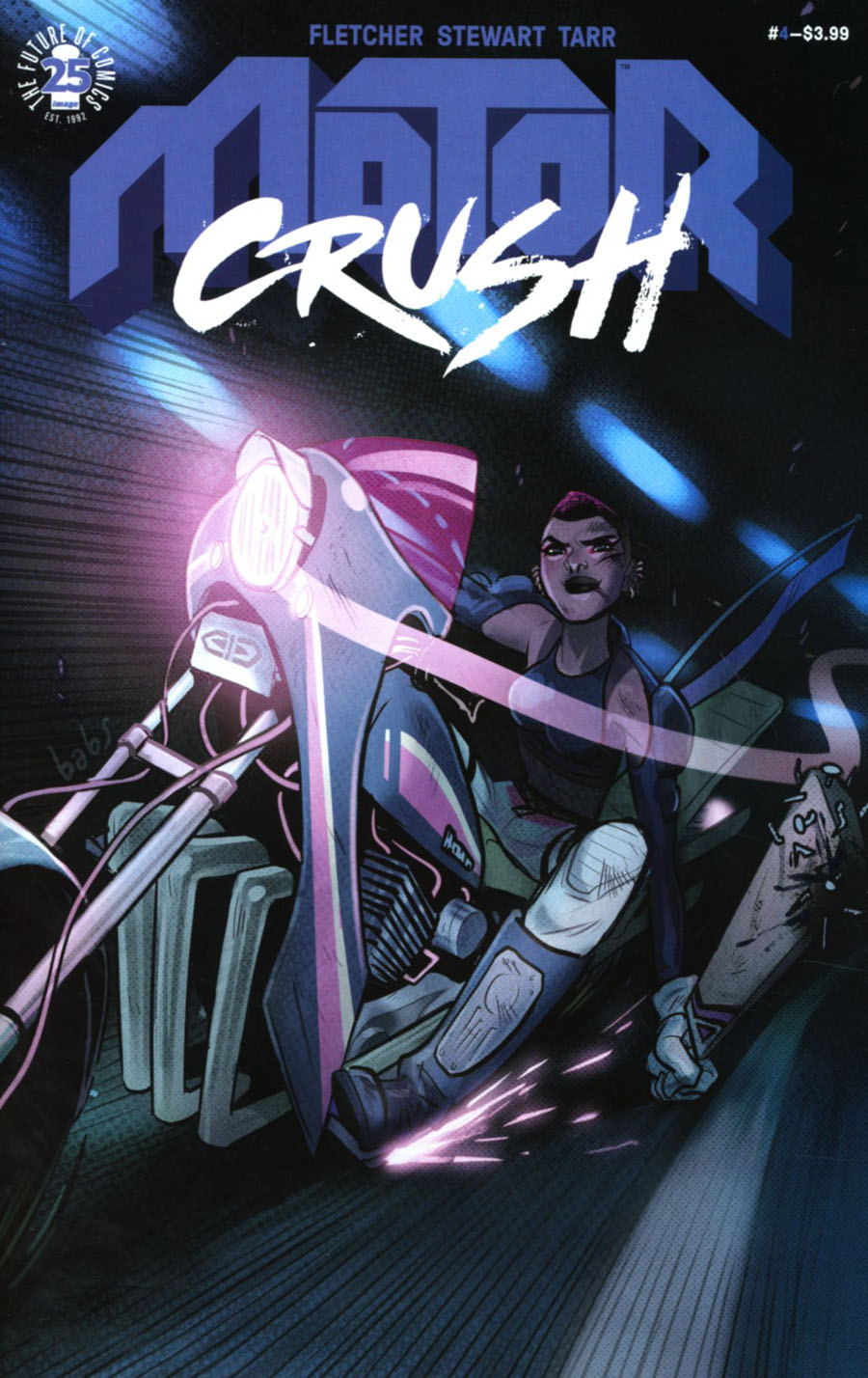 Motor Crush #4 Cover A Regular Babs Tarr Cover