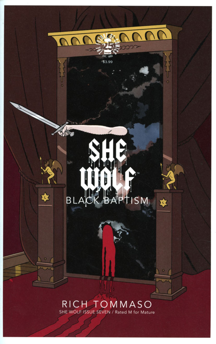 She Wolf #7 Cover A Regular Rich Tommaso Cover