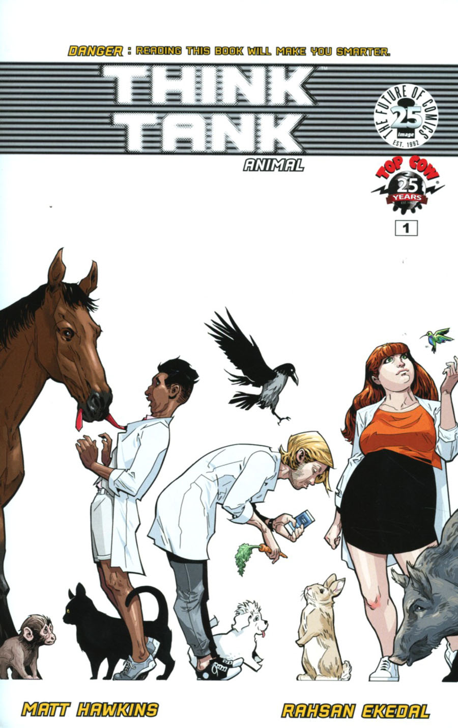 Think Tank Vol 2 #1 Cover B Variant Rahsan Ekedal Cover