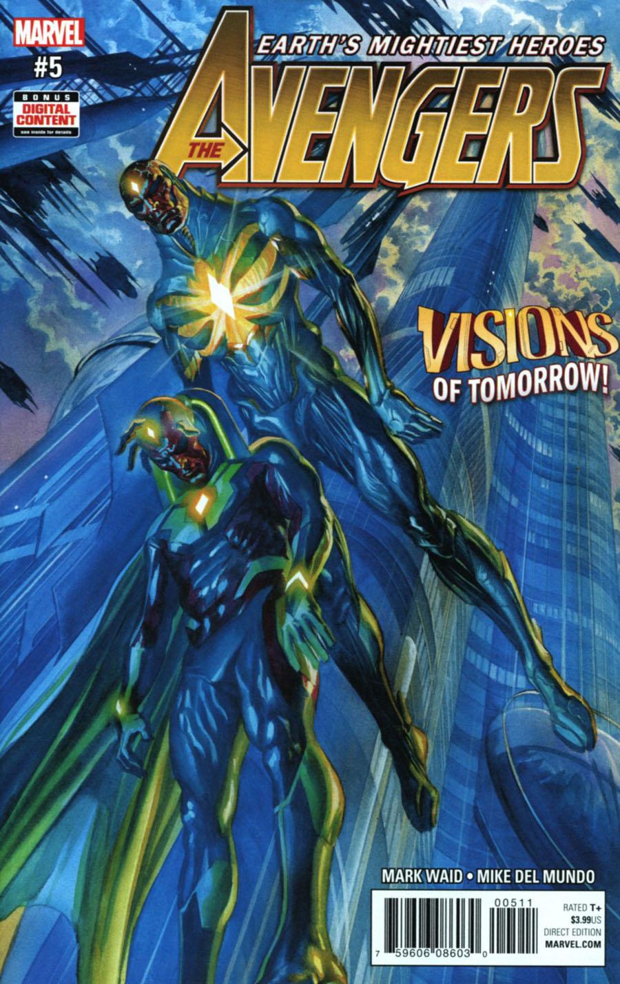 Avengers Vol 6 #5 Cover A Regular Alex Ross Cover