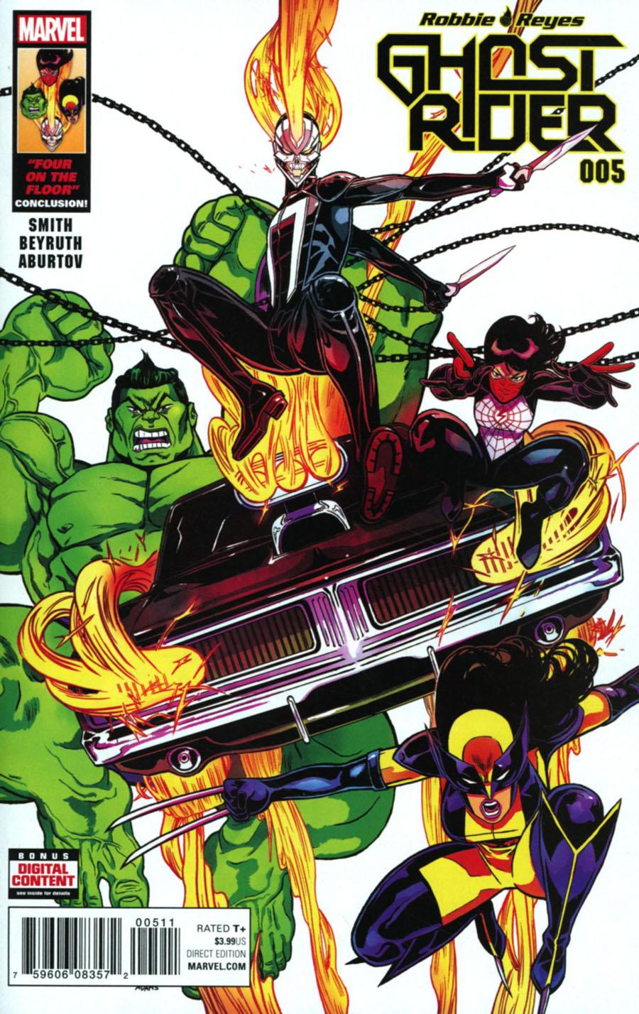 Ghost Rider Vol 7 #5 Cover A Regular Felipe Smith Cover