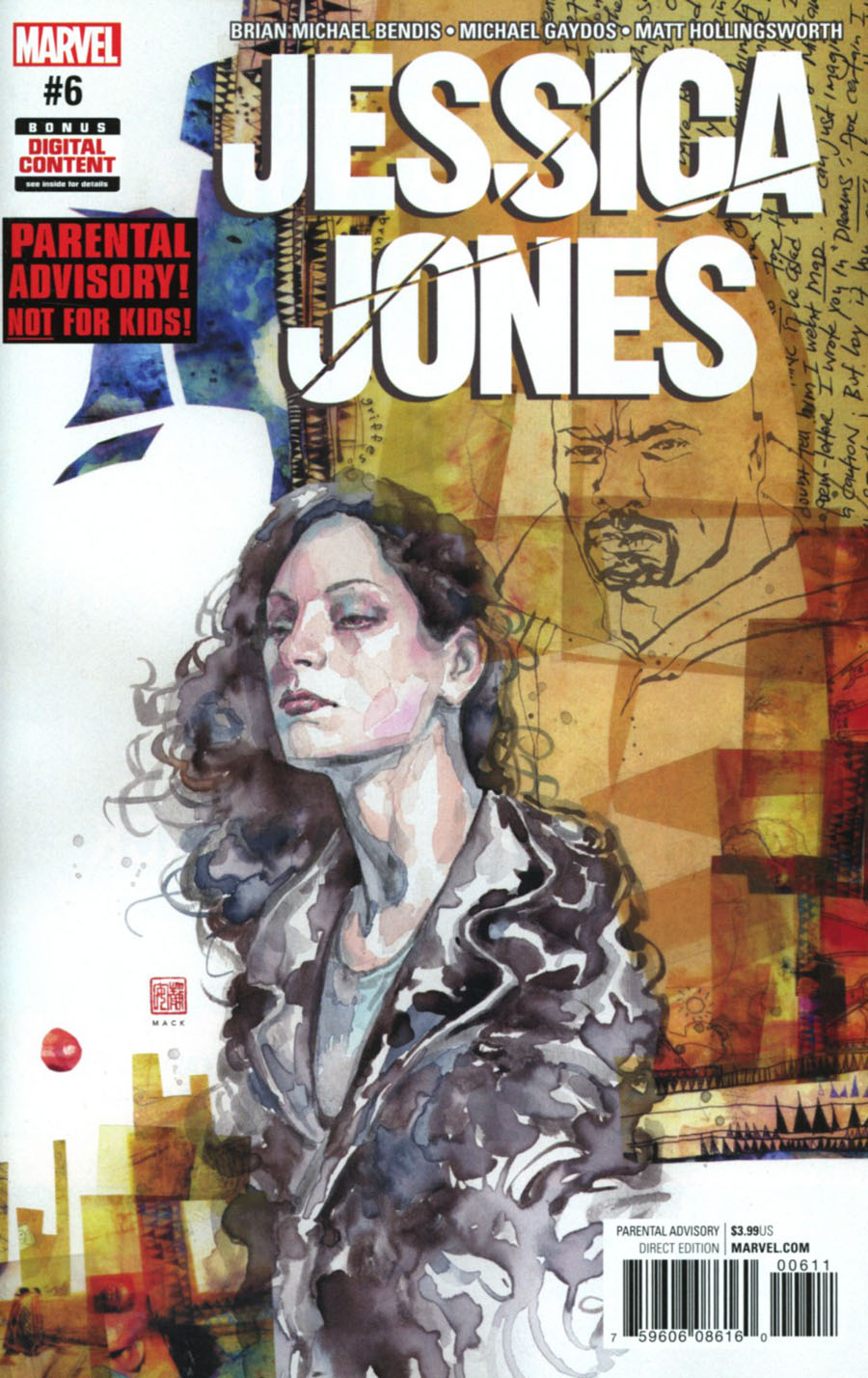 Jessica Jones #6 Cover A Regular David Mack Cover