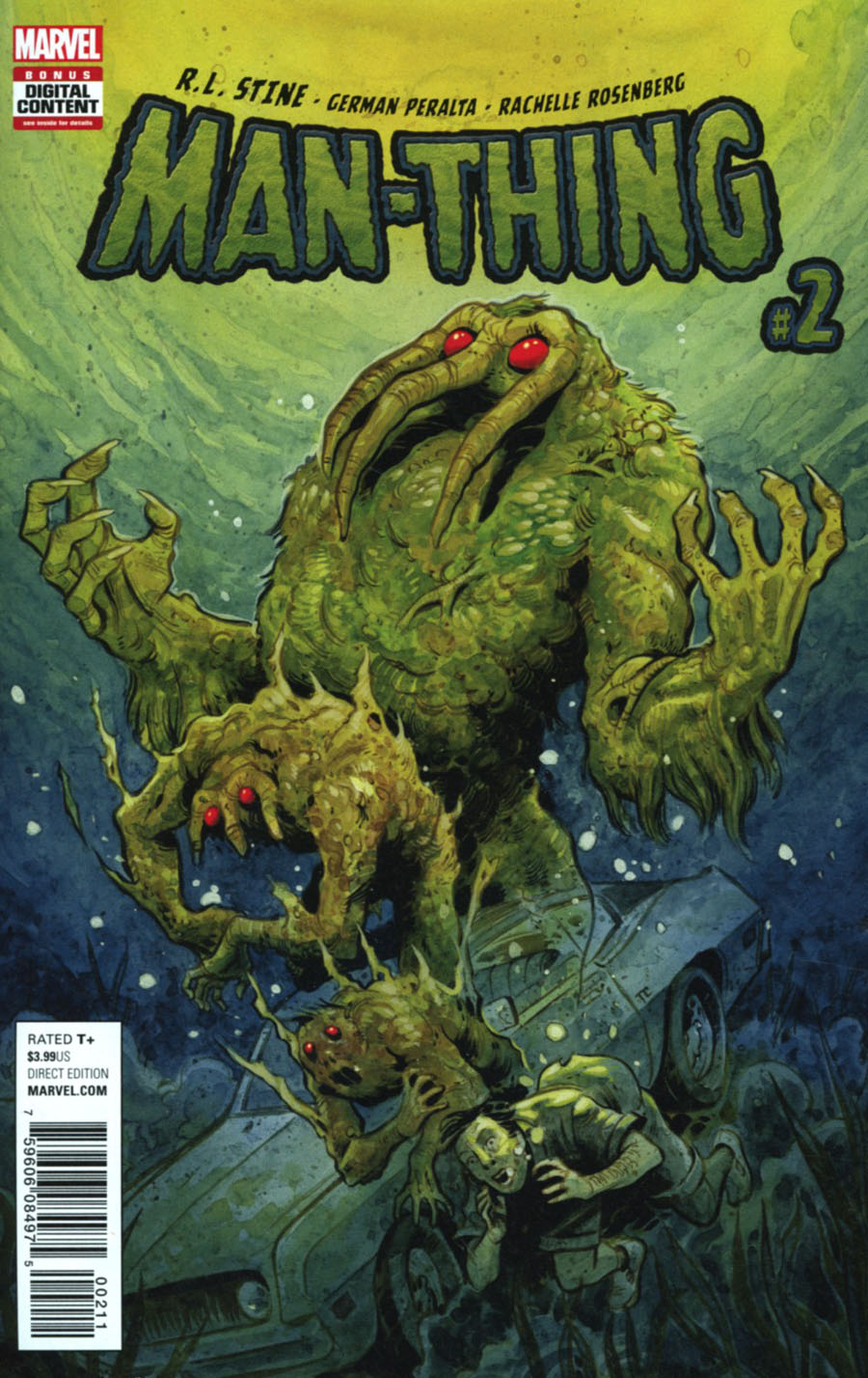 Man-Thing Vol 5 #2 Cover A Regular Tyler Crook Cover