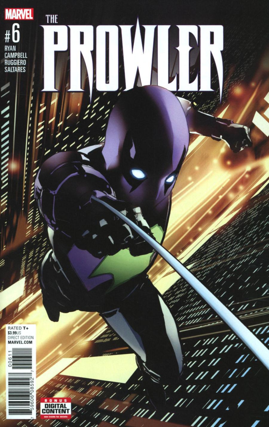 Prowler (Marvel) Vol 2 #6