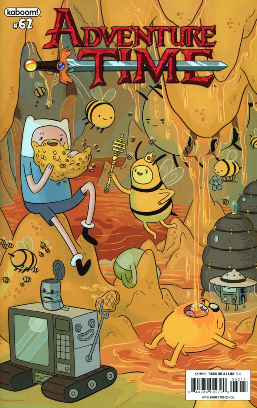 Adventure Time #62 Cover A Regular Shelli Paroline & Braden Lamb Cover