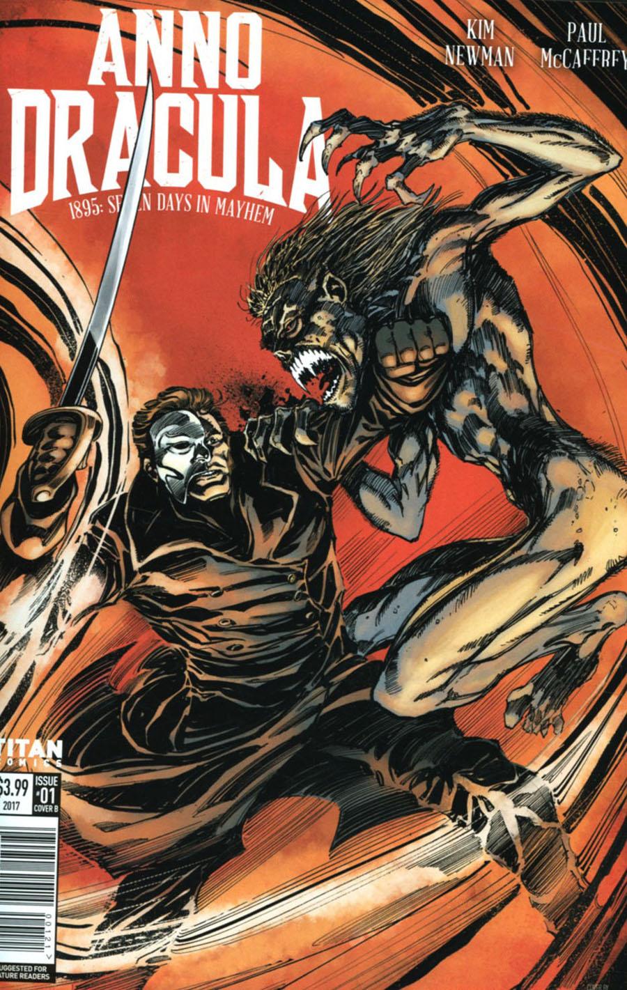 Anno Dracula #1 Cover B Variant Tom Mandrake Cover