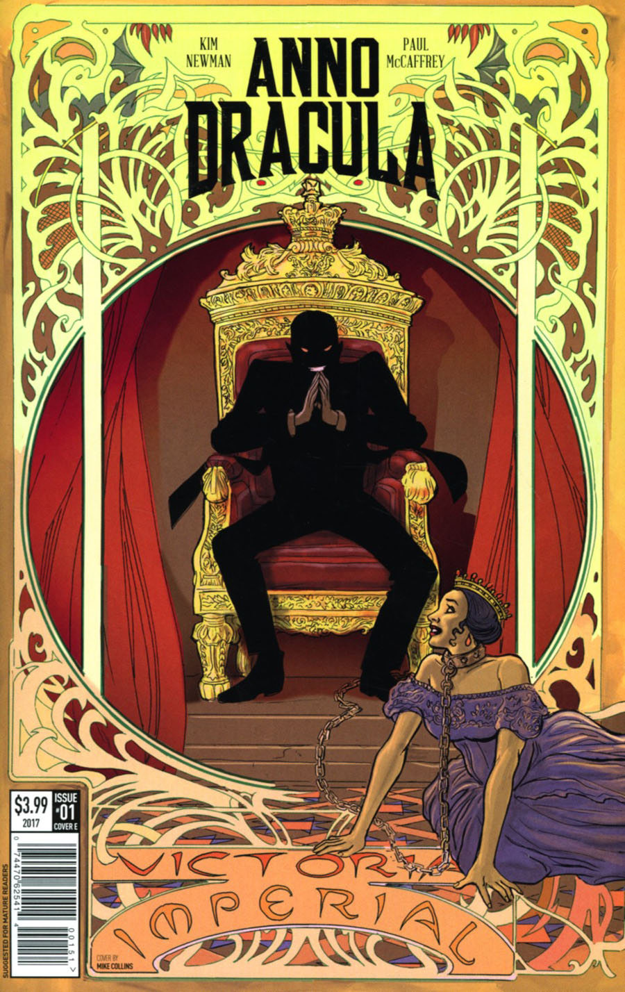 Anno Dracula #1 Cover E Variant Mike Collins Cover