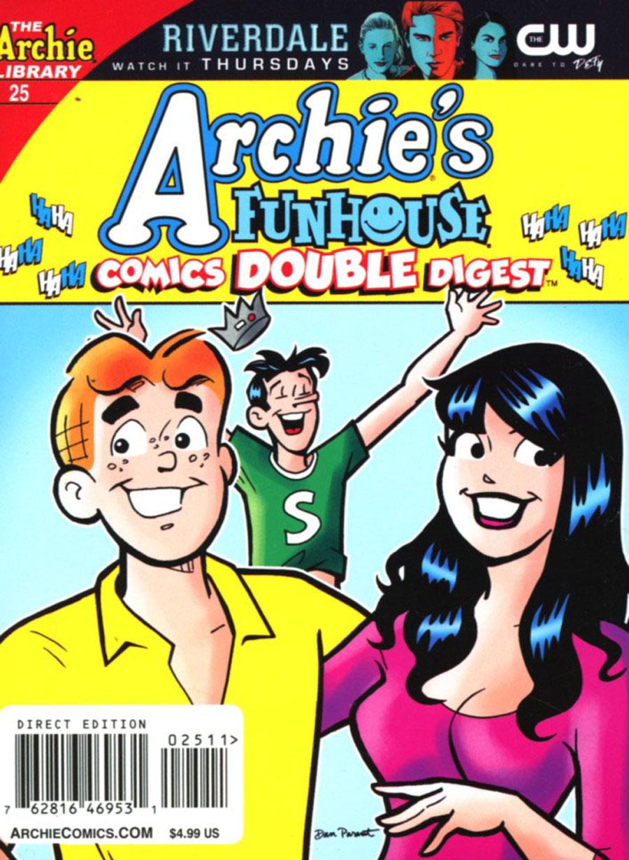Archies Funhouse Comics Double Digest #25