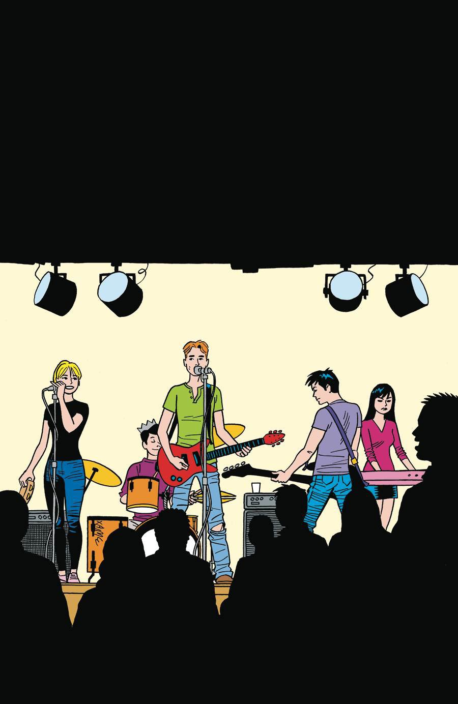 Archies One Shot Cover A Regular Jaime Hernandez Cover