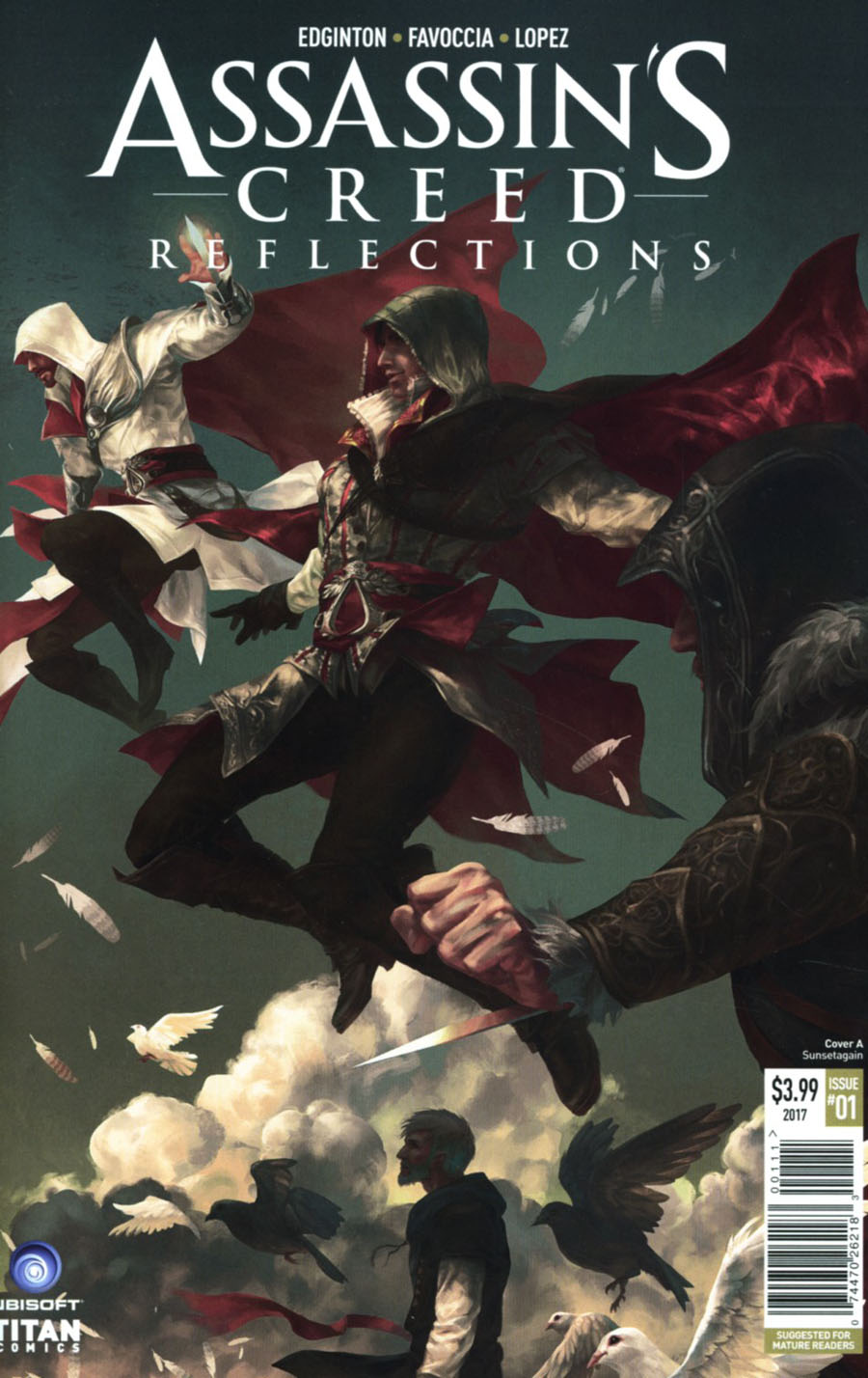 Assassins Creed Reflections #1 Cover A Regular Sunsetagain Cover