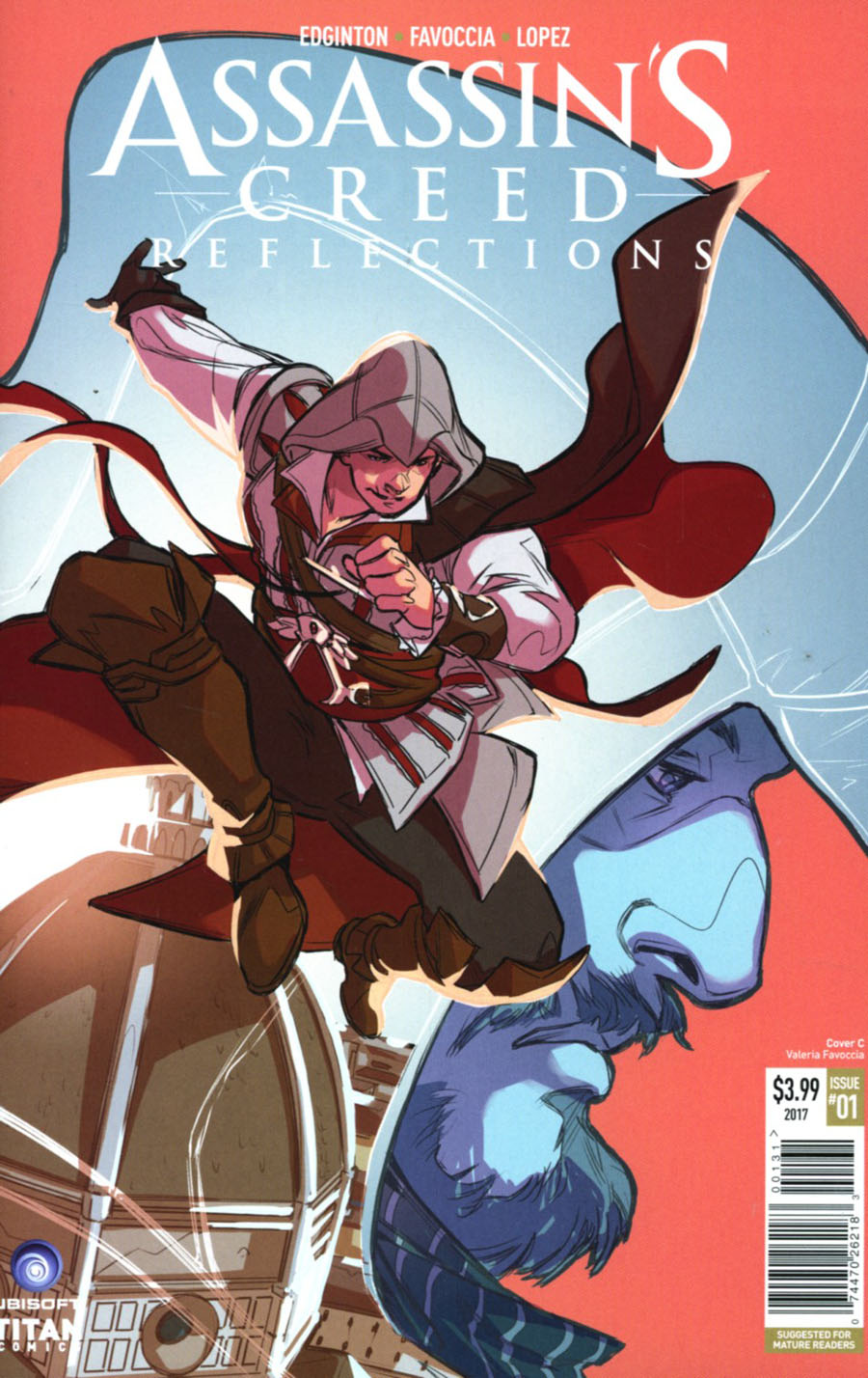 Assassins Creed Reflections #1 Cover C Variant Valeria Favoccia Cover