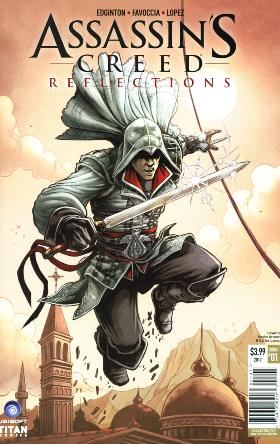 Assassins Creed Reflections #1 Cover D Variant Nacho Arranz Cover