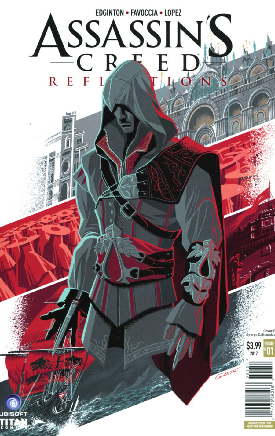 Assassins Creed Reflections #1 Cover E Variant Georges Caltsoudas Cover