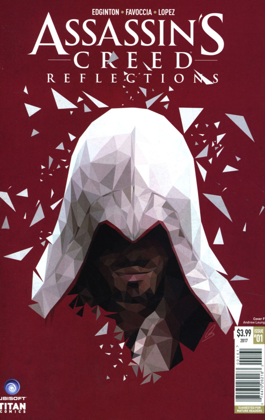 Assassins Creed Reflections #1 Cover F Variant Polygon Cover