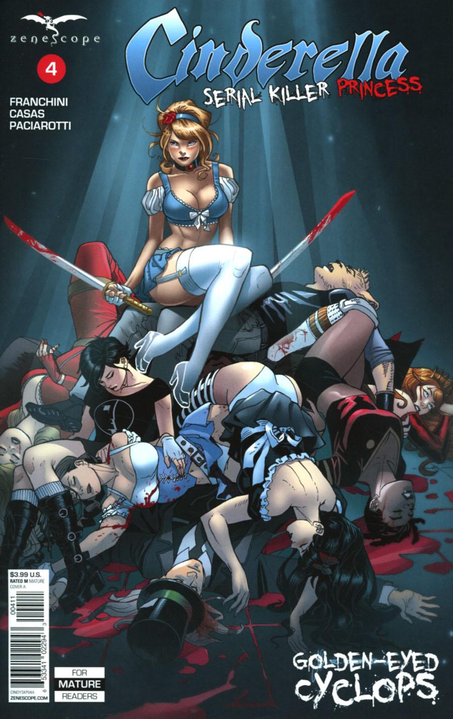Grimm Fairy Tales Presents Cinderella Serial Killer Princess #4 Cover A Richard Ortiz