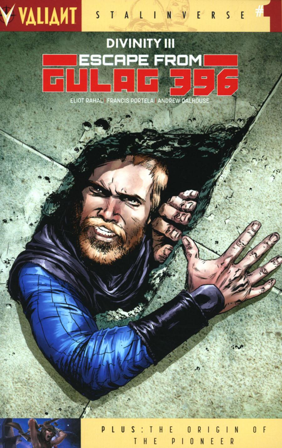 Divinity III Escape From Gulag 396 #1 Cover A Regular Adam Gorham Cover