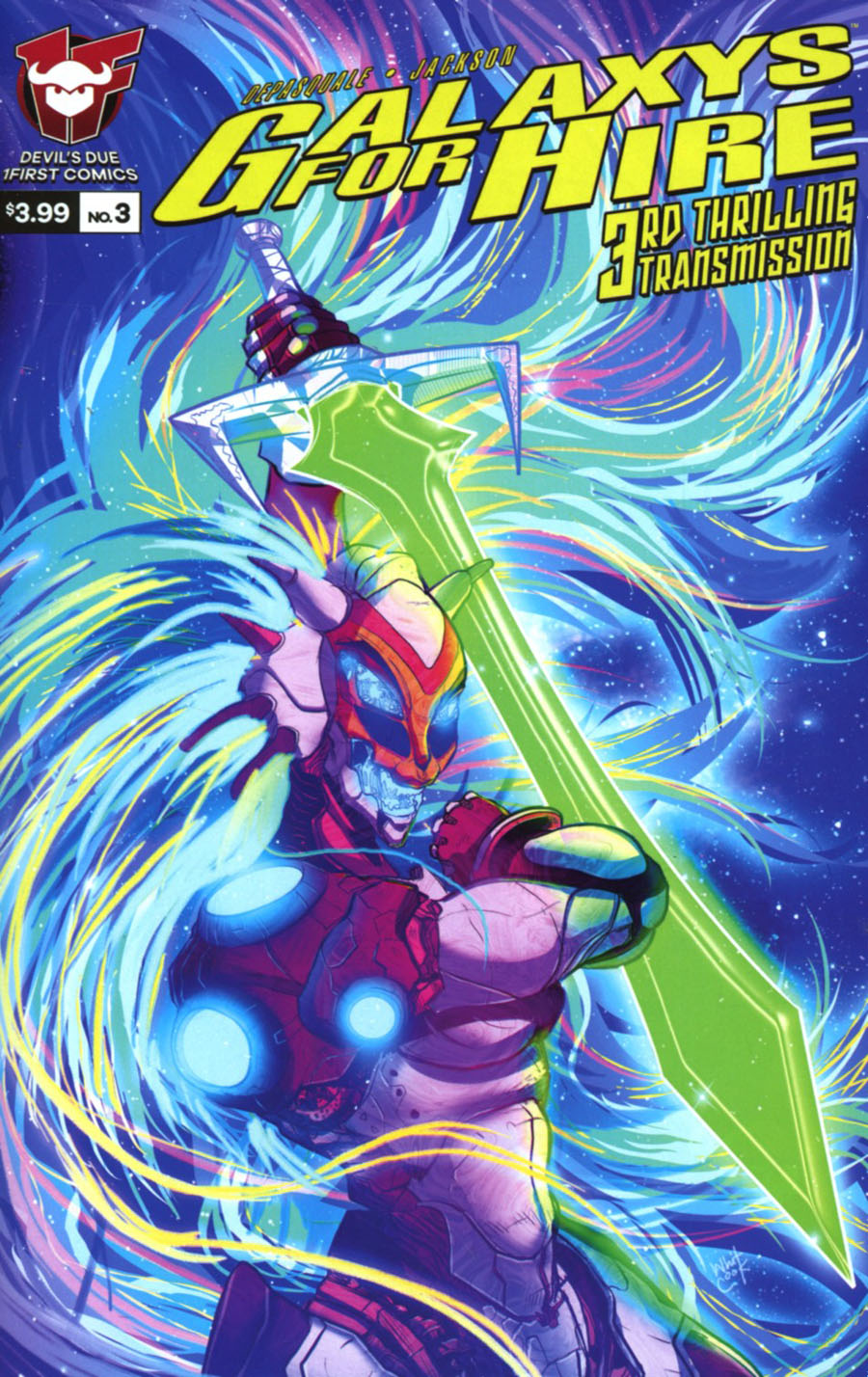 Galaxys For Hire #3 Cover A Regular Sherard Jackson Cover