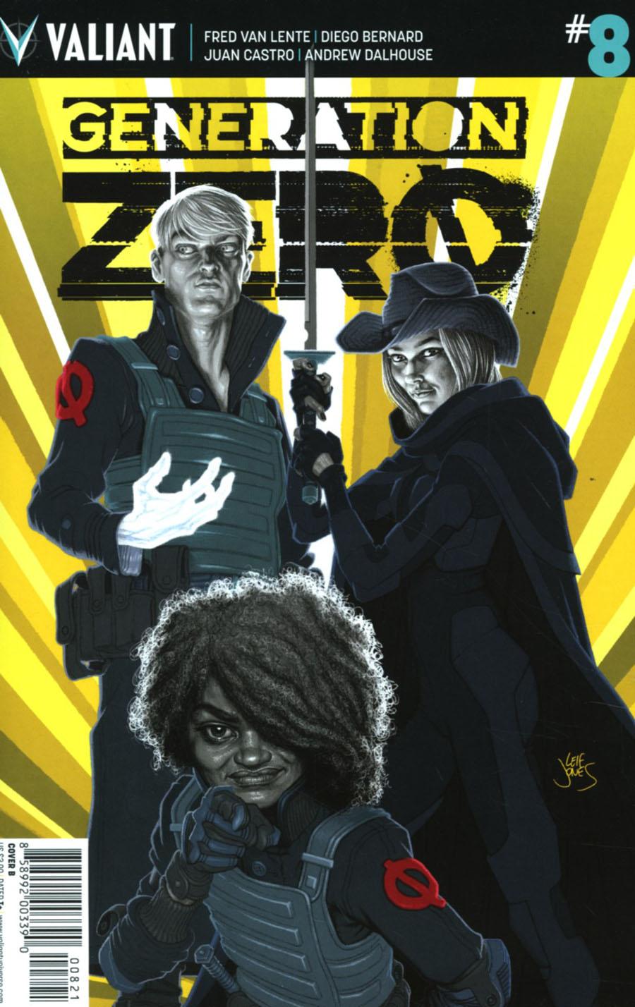 Generation Zero #8 Cover B Variant Leif Jones Cover