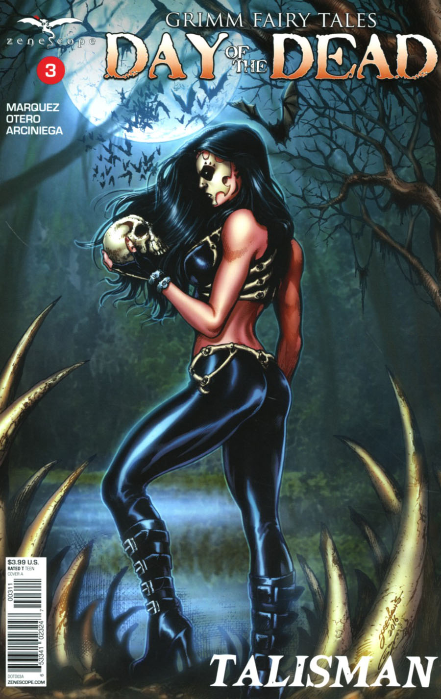 Grimm Fairy Tales Presents Day Of The Dead #3 Cover A Jose Luis