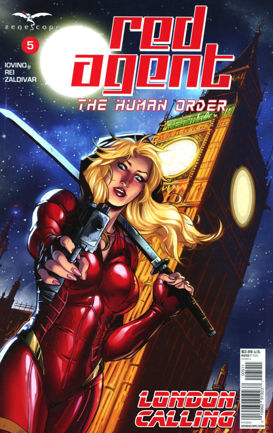Grimm Fairy Tales Presents Red Agent Human Order #5 Cover A Riveiro
