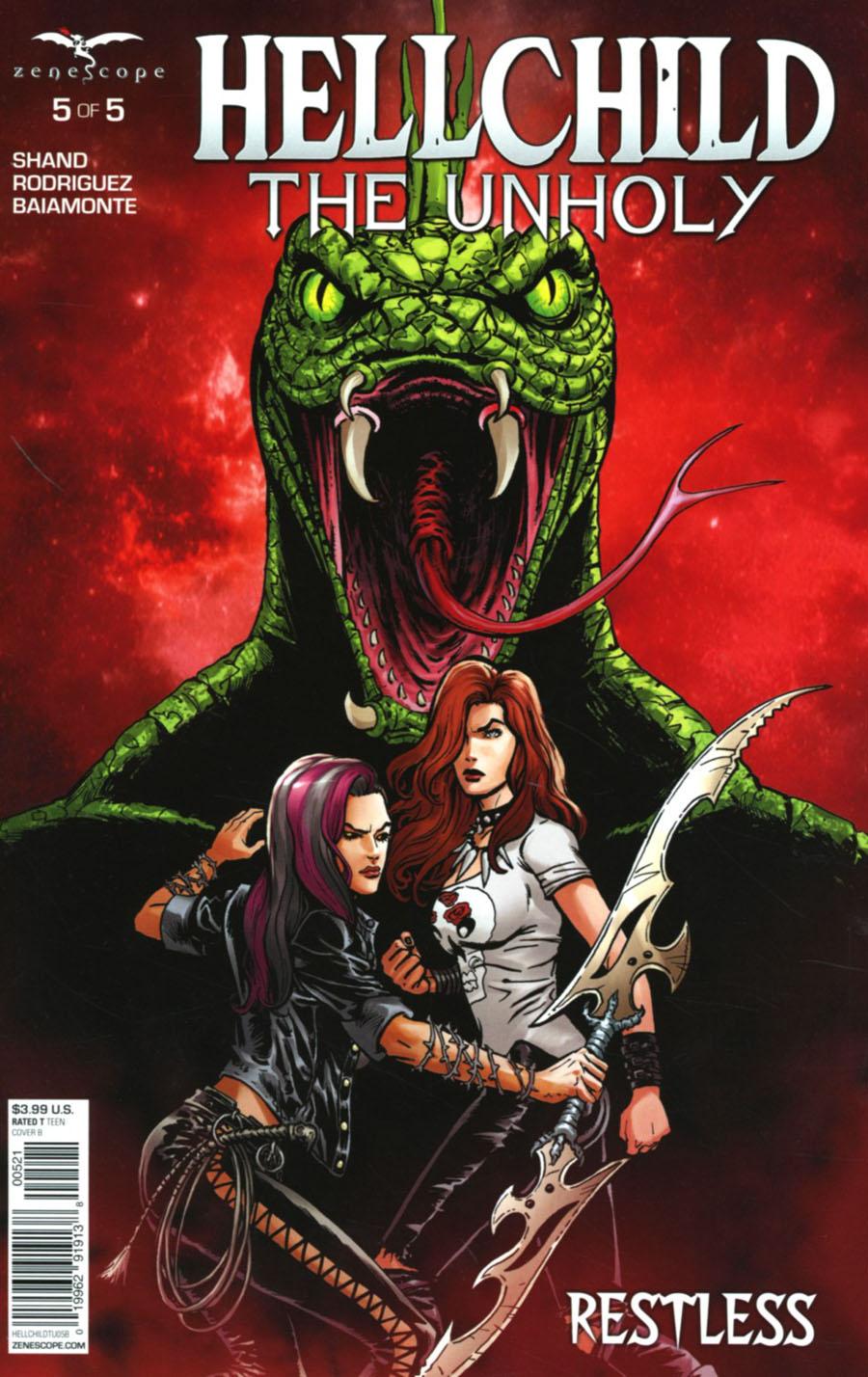 Grimm Fairy Tales Presents Hellchild The Unholy #5 Cover B Sami Kivela