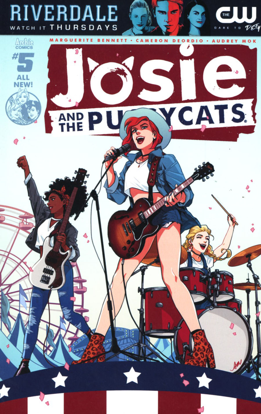 Josie And The Pussycats Vol 2 #5 Cover A Regular Audrey Mok Cover