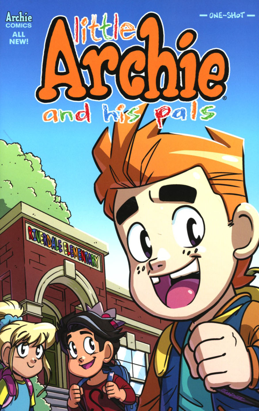 Little Archie One Shot Cover B Variant Ryan Jampole Cover