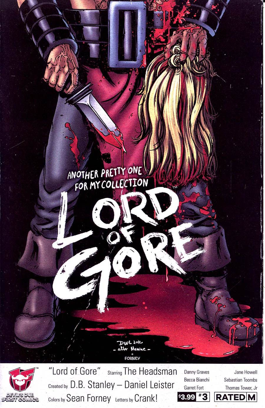 Lord Of Gore #3 Cover A Regular Daniel Leister Cover