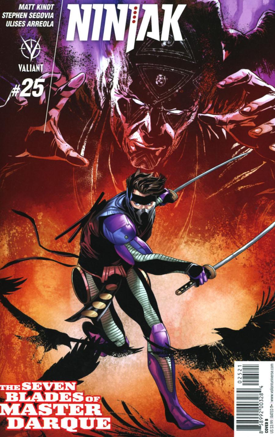 Ninjak Vol 3 #25 Cover B Variant Marc Laming Cover