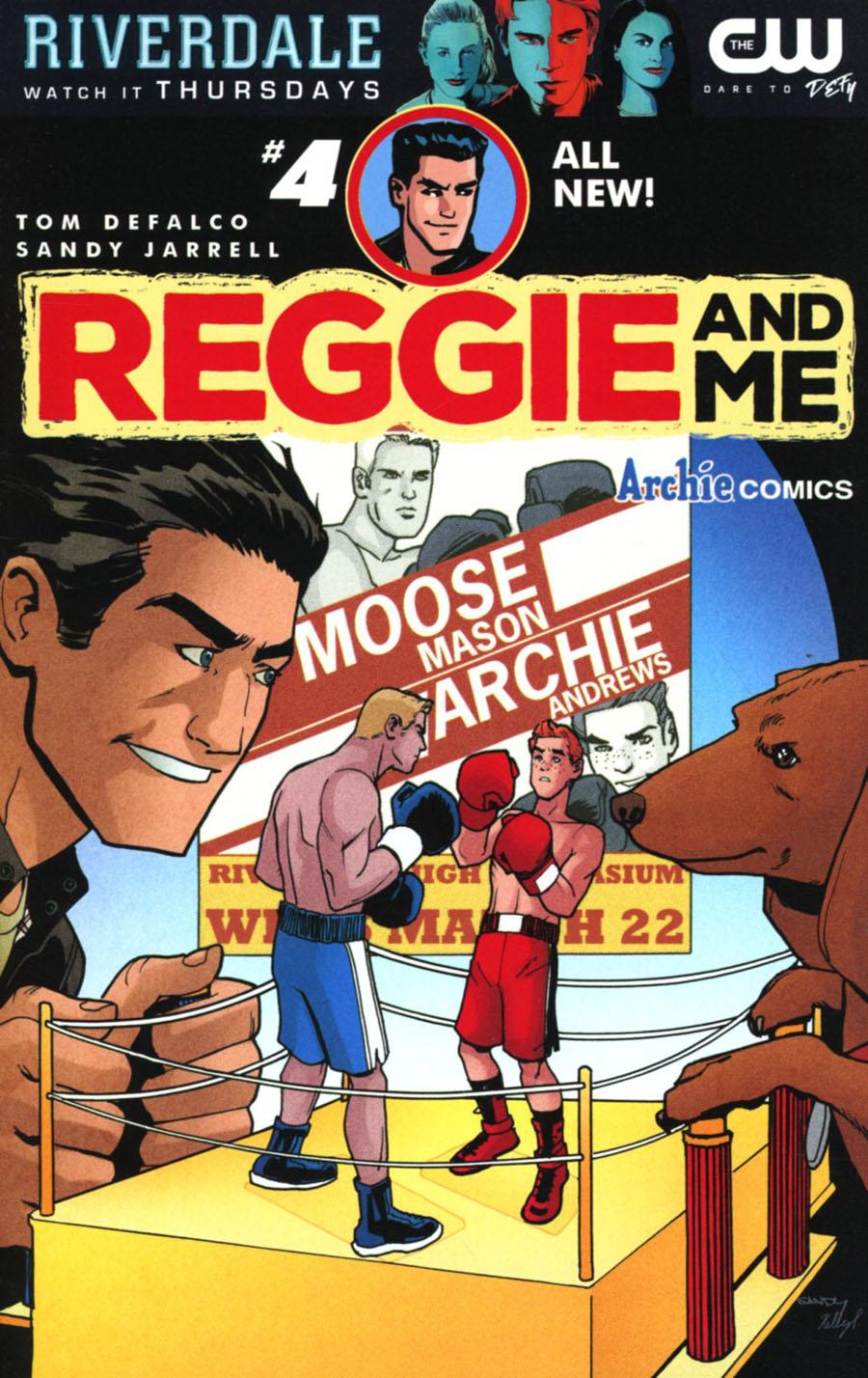 Reggie And Me Vol 2 #4 Cover A Regular Sandy Jarrell Cover