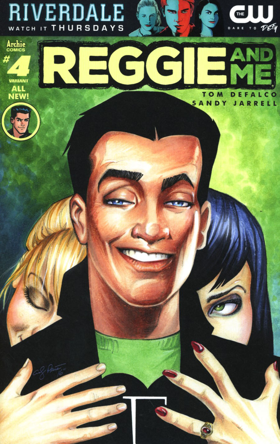 Reggie And Me Vol 2 #4 Cover C Variant Andy Price Cover