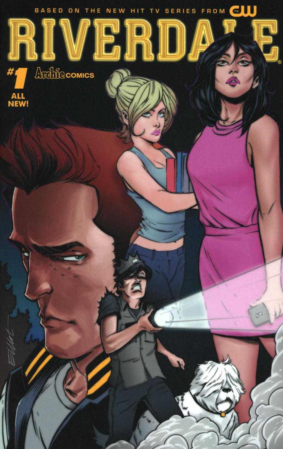 Riverdale #1 Cover B Variant Elliot Fernandez Cover
