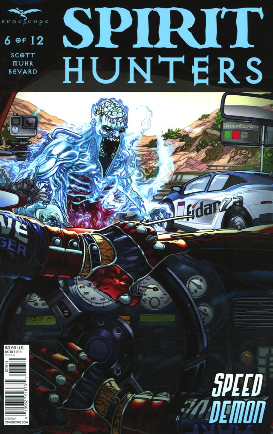 Spirit Hunters #6 Cover A Harvey Tolibao