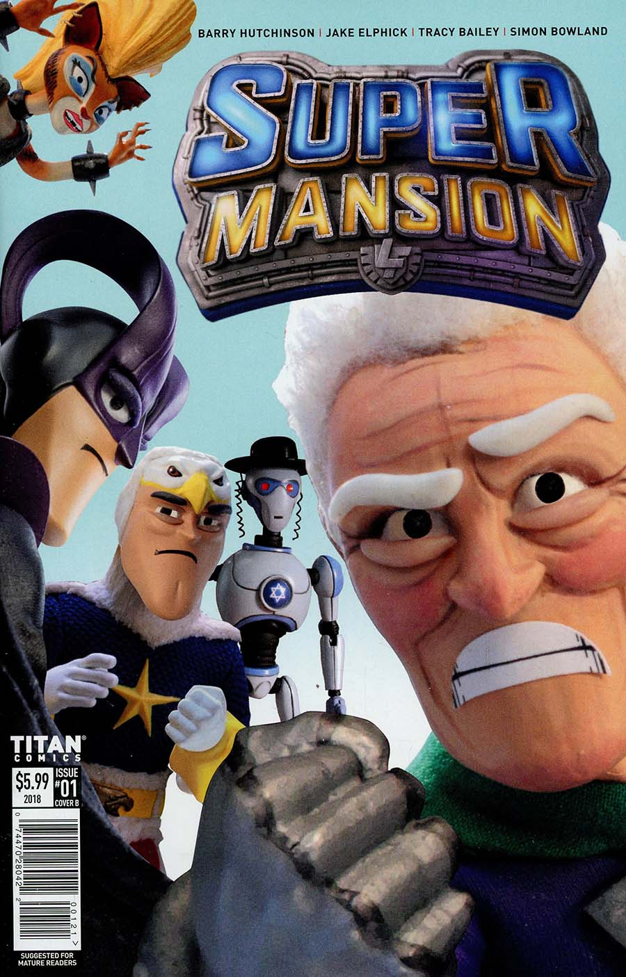 Supermansion #1 Cover B Variant TV Show Cover
