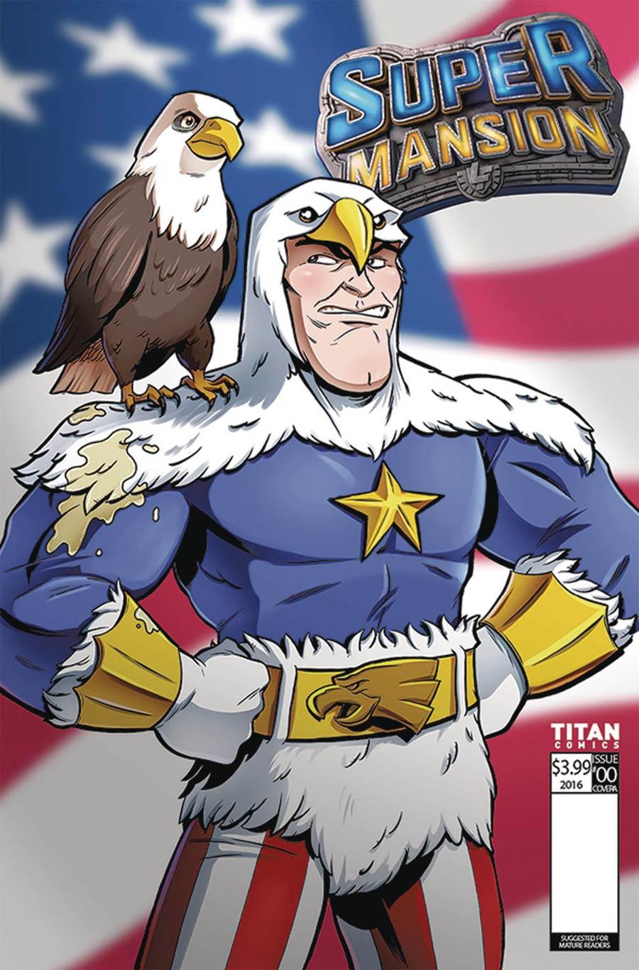 Supermansion #1 Cover F Variant Matt Hebb Cover
