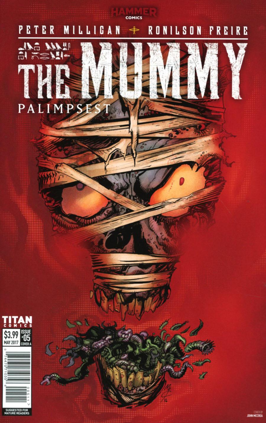 Mummy #5 Cover A Regular John McCrea Cover