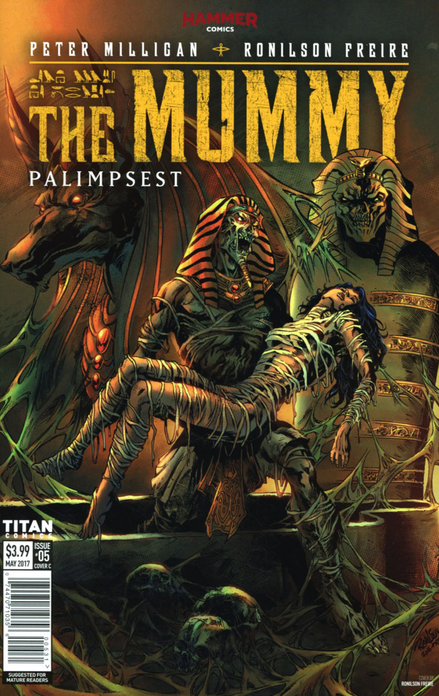Mummy #5 Cover C Variant Ronilson Friere Cover