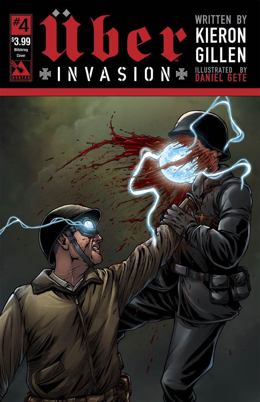 Uber Invasion #4 Cover C Blitzkrieg Cover