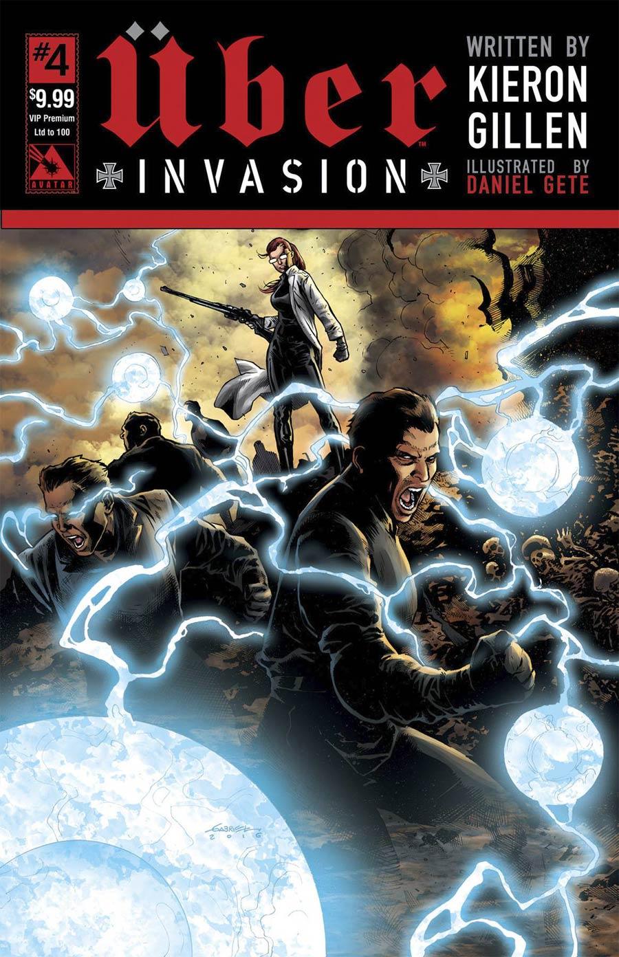 Uber Invasion #4 Cover F VIP Premium Cover