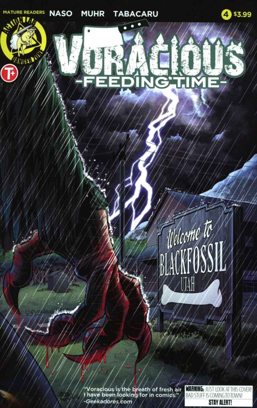 Voracious Feeding Time #4 Cover A Regular Jason Muhr Cover