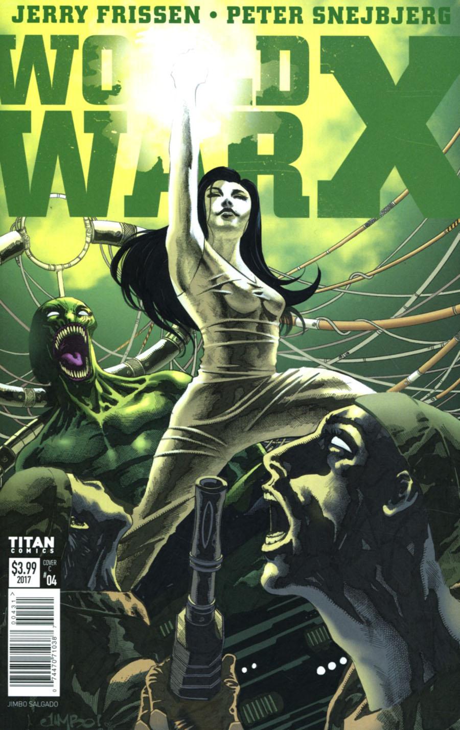 World War X #4 Cover C Variant Jimbo Salgado Cover