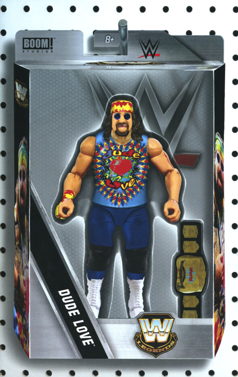 WWE #3 Cover B Variant Adam Riches Action Figure Cover