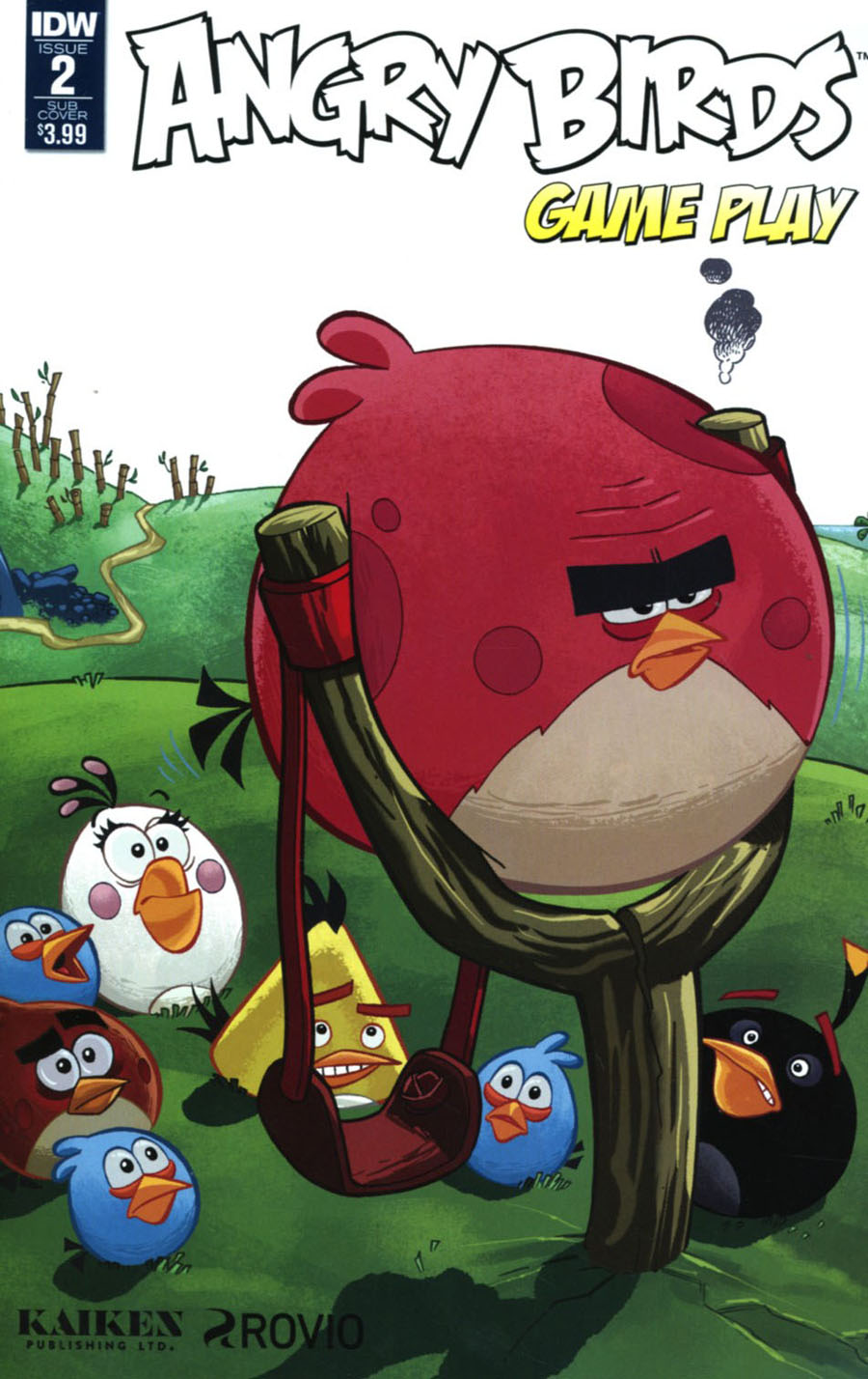 Angry Birds Comics Game Play #2 Cover B Variant Paco Rodriquez Subscription Cover
