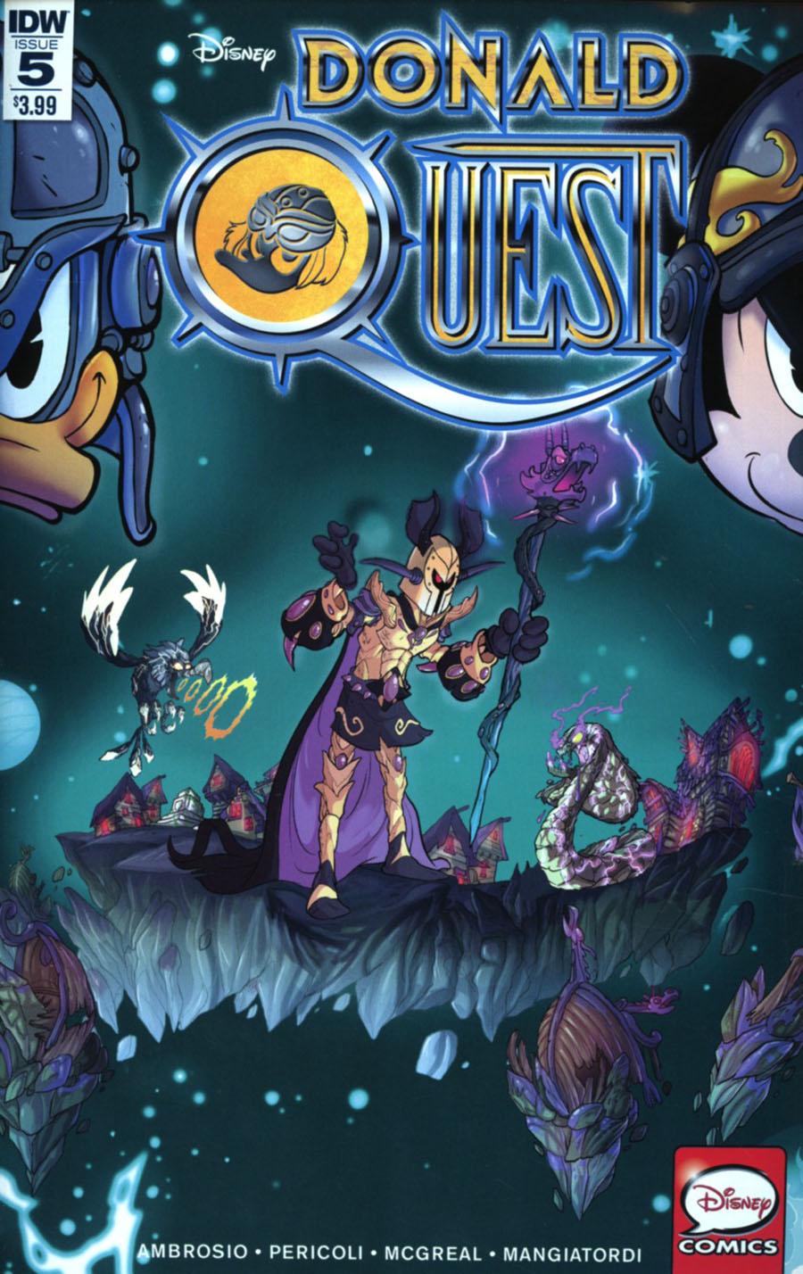 Donald Quest #5 Cover A Regular Ciro Cangialosi Cover