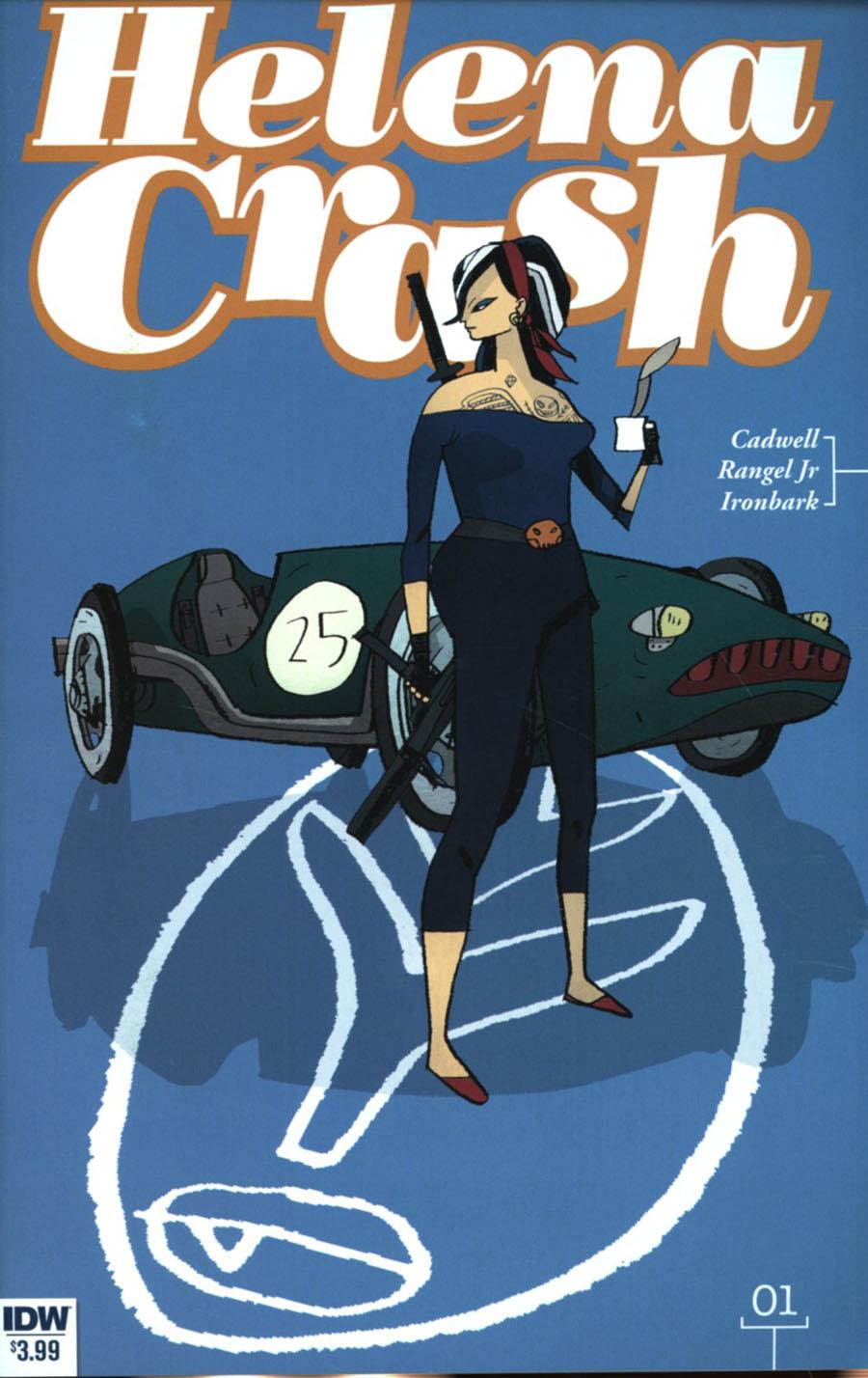 Helena Crash #1 Cover A Regular Warwick Johnson-Cadwell Cover