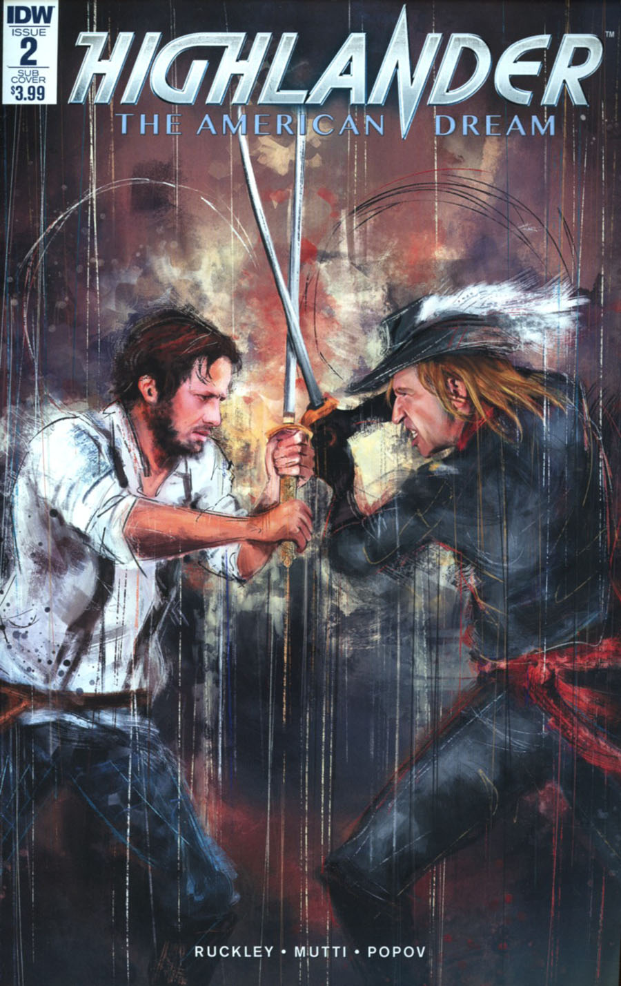 Highlander American Dream #2 Cover B Variant Claudia Gironi Subscription Cover